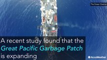 Earth's biggest cluster of ocean trash, the Great Pacific Garbage Patch, is now 3 times the size of France