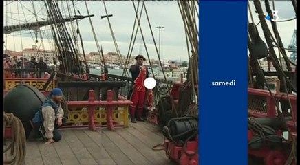 Un voyage extraordinaire à bord de l'Hermione - Escale à Sète