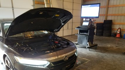 Honda Accord 2.0T Dyno Test