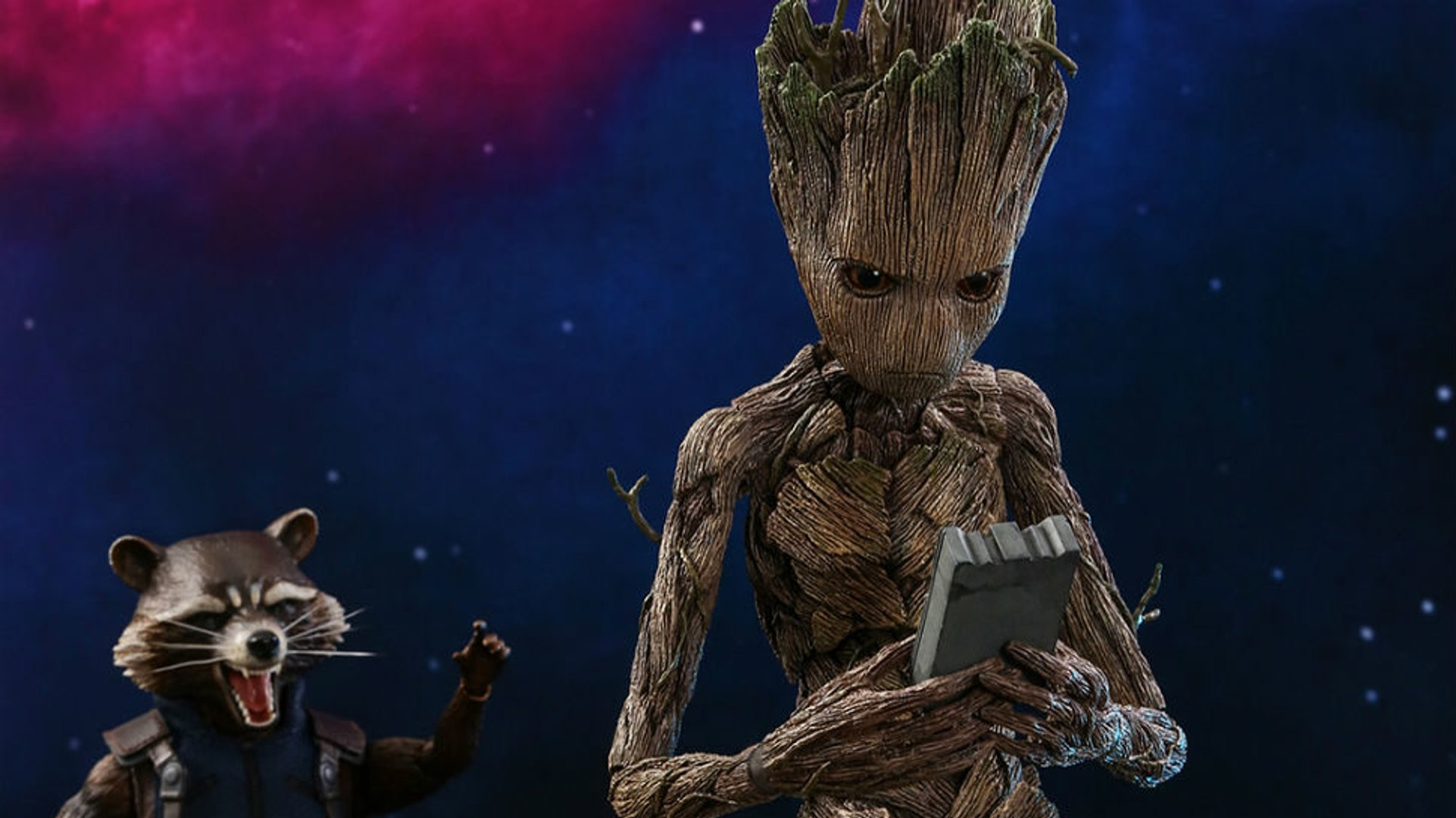 Avengers Infinity War : Teen Groot vs Star-Lord - Marvel