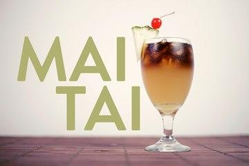 Mai Tai Drink Recipe