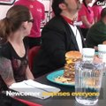 Voilà à quoi ressemble un concours de mangeurs de burgers
