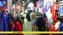 Mad rush for French football kit as France face Portugal in Euro 2016 finals