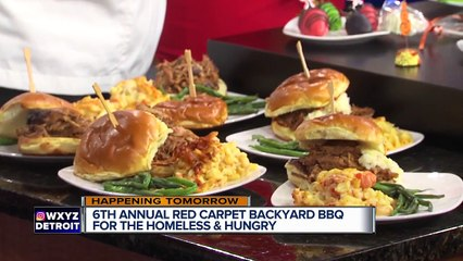 Robert Shumake || Red-Carpet-Backyard-BBQ-For-the-Homeless-and-Hungry