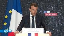 Intelligence artificielle : Emmanuel Macron veut doubler le nombre d'étudiants formés à l'I.A.