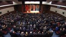 """Cumhurbaşkanı Erdoğan: """"MİT, Kosova istihbaratı ile yaptığı dayanışma içinde Balkanlar'daki 6 tane en üst düzey FETÖ temsilcisini anlaşarak aldılar getirdiler ve Emniyet Teşkilatına teslim ettiler. Onlar kaçacak biz kovalayacağız. Bunla"""