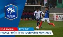 U16, Tournoi de Montaigu : France-Haïti (8-1), les buts I FFF 2018