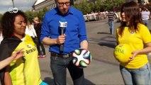 Brasilianische WM-Fans in Berlin | Euromaxx - Der WM-Reporter