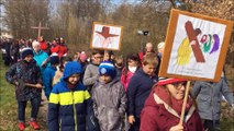 Haguenau : chemin de croix du Vendredi-saint à Harthouse