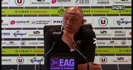POINT PRESSE (EAG) : AVANT GUINGAMP - BORDEAUX