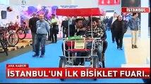 İstanbul'un ilk bisiklet fuarı...
