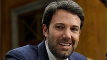 Ben Affleck Pokes Fun At Story Saying He's Unhappy
