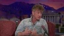 Sean Penn's Novel: Bizarre Late Night Tour & Critics' Reaction | THR News