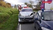 Ploudaniel (29). Nouvel accident sur la D770 : quatre blessés