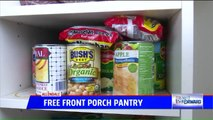 Woman Keeps Free Pantry on Front Porch to Help Out Neighbors