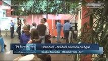 Cobertura Abertura Semana da Água em Ribeirão Preto - TV Ribeirão Web News
