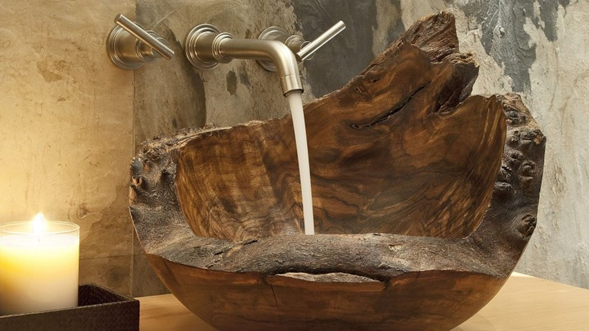 This Woodworker Makes the Most Gorgeous Sinks We've Ever Seen