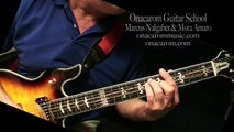 How to Play Guitar Rhythms - Pop Rock Style Guitar Turnaround - Gm Ab Bb Ab Gm Ab Bb - Marcus Nalgaber & Mora Amaro