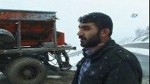 Ardahan Posof'ta Kar Yağışı Etkisin Sürdürüyor