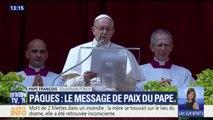 """Lors de son message de Pâques, le pape réclame la fin de """"l'extermination en cours"""" en Syrie"""