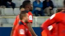 Résumé Auxerre - Bourg Peronnas but Adama Sarr 0-1