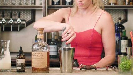 Velvet Monkey Cocktail - The Proper Pour with Charlotte Voisey