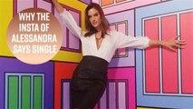Alessandra Ambrosio follows the post-split Insta rules