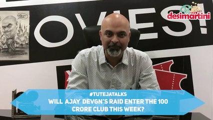 Ajay Devgn's Raid All Set To Enter The 100 Crore Club |Box Office | #TutejaTalks