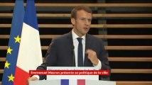 Emmanuel Macron annonce le retour des emplois francs en banlieue