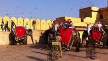 Amer (or Amber) Fort in Jaipur