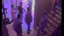 Hırsızlık için girdikleri binada suçüstü yakalandılar, 'Yöneticiyle temizlik işini görüşmek için girmiştik' dediler...3 kadın hırsız kamerada