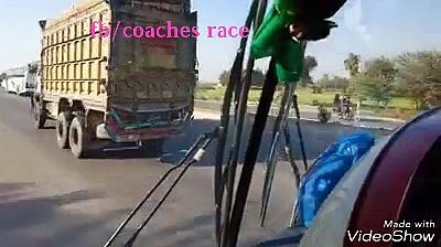 Sohan ways coach vs khandkot coach adil shah coach & baloch express