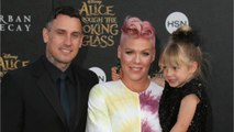 Pink's Daughter Willow Sage Gets Buzzy With Dad Carey Hart