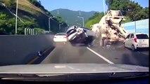 os mais incríveis acidente de carros