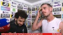 شاهد ماذا قال محمد صلاح بعد تسجيل هدف الفوز على كريستال بالاس