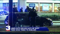 Uber Eats Driver Says He Shot Teen Who Tried to Rob Him in IHOP Parking Lot
