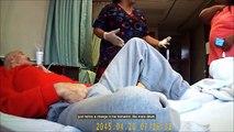 Une famille découvre après avoir installé une caméra cachée que l'aide soignante bat un homme de 89 ans!