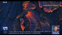 Les superbes images de l'éruption du volcan Kilauea à Hawaï
