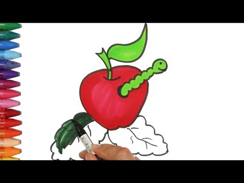 Kurtlu Elma Nasil Cizilir Cizelim Boyayalim Video Dailymotion