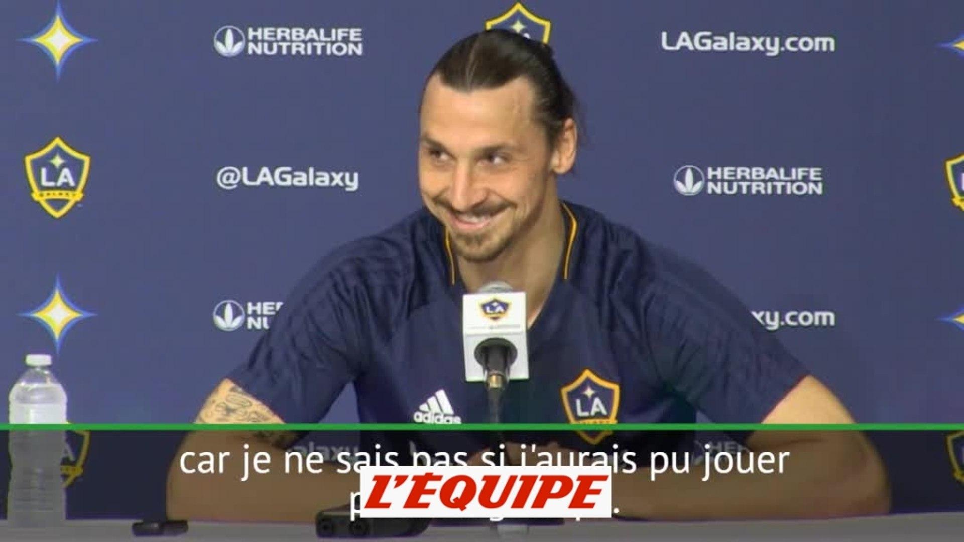 Ibrahimovc «Les fans voulaient Zlatan, je leur ai donné Zlatan» - Foot - MLS