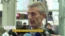 """Grève à la #SNCF : """"Le covoiturage sera gratuit en Île-de-France"""". La SNCF """"incite les gens à mettre une feuille sur leur pare-brise indiquant leur destination de façon à ce que le stop soit facilité"""", explique Alain Krakovitch."""