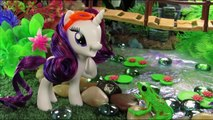 My Little Pony: Reboot Twilight Sparkle, Pinkie Pie, Lyra, & Rarity! MLP Toy Parody Spoof