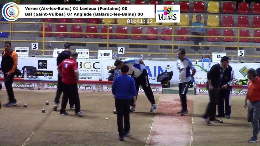 Huitièmes de finale, neuvième étape du Super 16 masculin,  Saint-Vulbas 2018