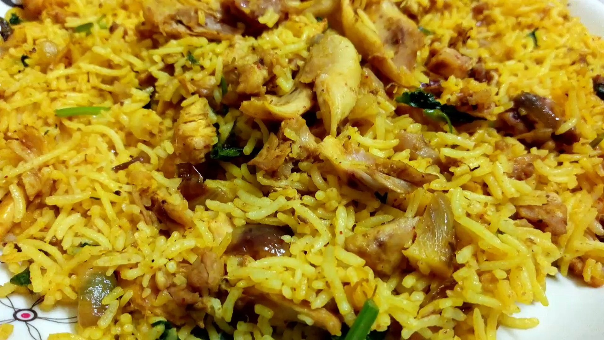 Chicken Masala Fried Rice | Chicken Fried rice