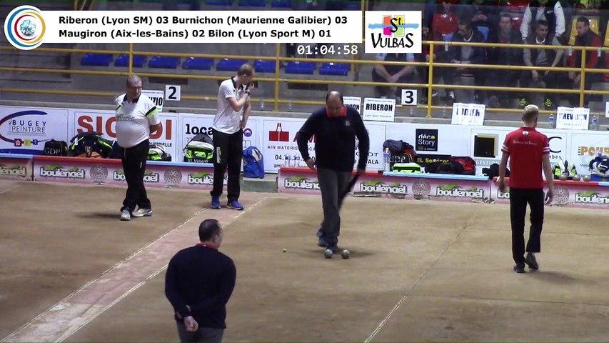 Barrages, neuvième étape du Super 16 masculin,  Saint-Vulbas 2018