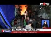 Kebakaran Besar Hanguskan Belasan Rumah di Tambora