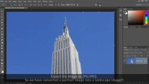 How to convert a Portrait photo into a Landscape | Adobe Photoshop Tutorial (Easy & Solved!)