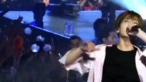 BTS Jimin & Jungkook condition on stage VS backstage (hardships)