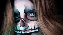 VOODOO SKULL MASK | Halloween Costume Makeup Tutorial | 31 Days of Halloween | RawBeautyKristi