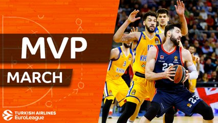 MVP of March: Tornike Shengelia, Baskonia Vitoria Gasteiz